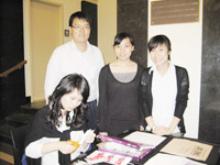 """Students supported and partook in """"A Dialogue with Newsroom Experts and Media Training."""" Students"""
