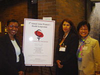 FUSIA/CCIP students attended the 5th Annual Asian American Women