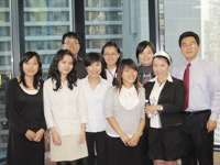 Sharing words of wisdom on the business world: a roundtable session with FUSIA/CCIP students and Philip Zhang