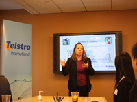 CCIP Students Visited Telstra Incorporated