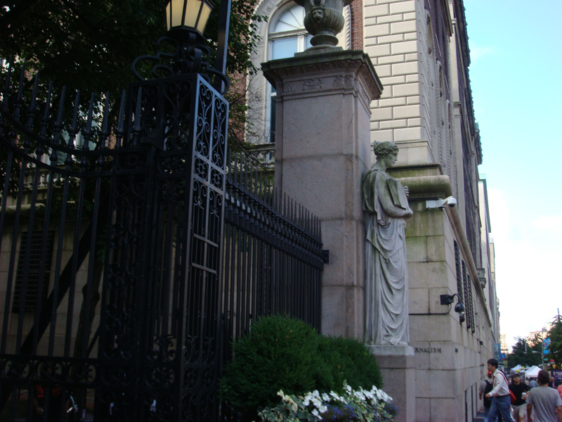 Visiting Columbia University and Saks Fifth Avenue