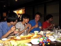 FUSIA hosts farewell dinner