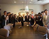 Visiting Senator Gillibrand