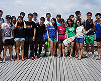 The First Dragon Boat Practice