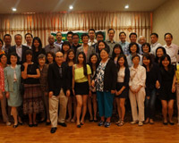 Dinner with prominent Hong Kong University alumni members