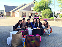 Woodbury Commons - all day shopping spree
