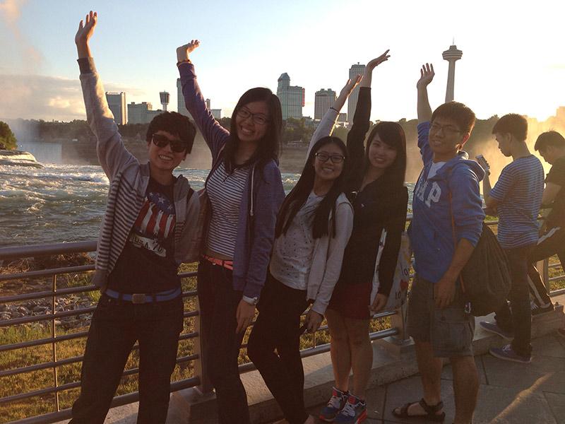 Visiting Boston and Niagara Falls...