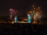 Making merry with a concert in Cunningham Park