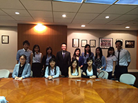 CCIP students learn about business and economy at local bank and HKETO-NY