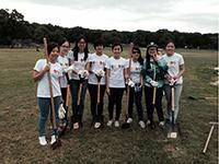 CCIP students demonstrate spirit of volunteerism at Cunningham Park