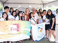 CCIP students race to finish at HKDBF in NY; make balloon art to engage community