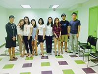 Life after CCIP: 2009 CCIP alumni Liu Xiao visits CCIP to share advice
