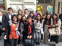 CCIP exchange visitors organize trips to Broadway