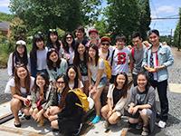 CCIP exchange visitors take a weekend excursion to Princeton University