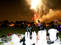 CCIP exchange visitors experience an unforgettable night at Cunningham Park