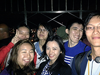 Reaching the sky: CCIP participants visit the Empire State Building