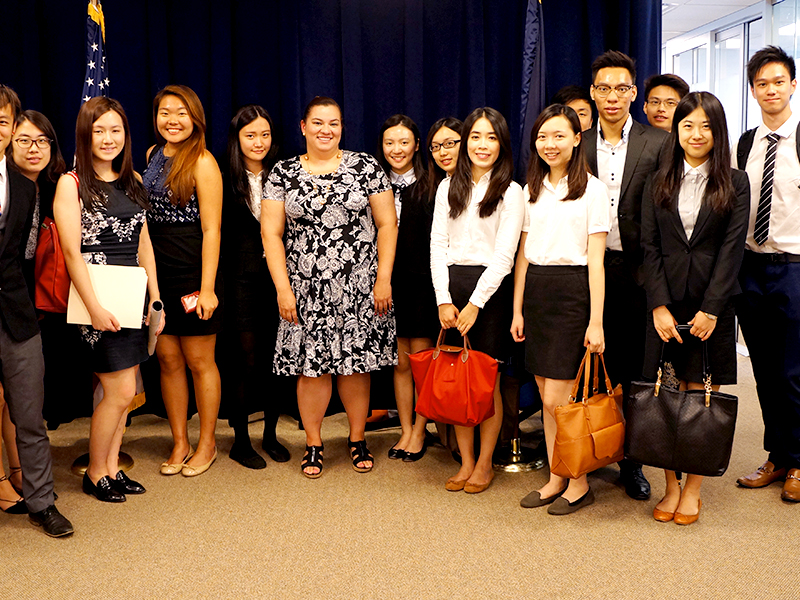 Global politics from multiple perspectives: CCIP participants visit several government...