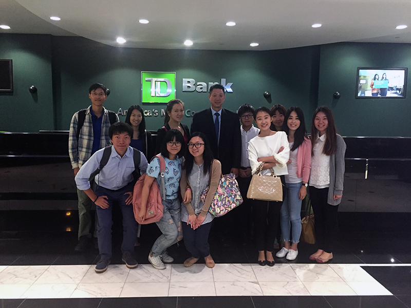Banking in America: CCIP participants visit TD Bank...
