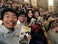 Broadway fantasy: CCIP exchange visitors enjoy The Phantom of the Opera