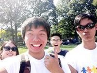 Keep it up: CCIP participants volunteer in Cunningham Park