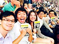 "CCIP exchange visitors enjoy the Broadway classic ""Les Miserables"""