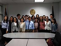 CCIP exchange visitors visit Councilman Koo