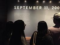 CCIP students visit September 11 Memorial & Museum