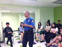 NYPD officers explain how to stay safe in New York City