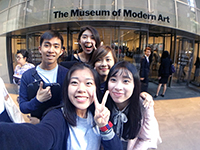 Beautiful views: CCIP exchange visitors go to MoMA and the Empire State Building