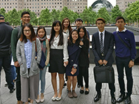 CCIP visits the 9/11 Museum and one world observatory