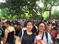CCIP J- 1 Interns at the Museum Mile Festival