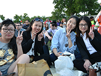 CCIP attends a colorful musical celebration in the park