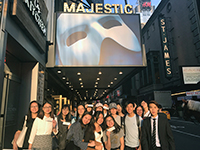"""""""The Phantom of the Opera"""" thrills the CCIP exchange visitors"""