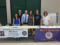 CCIP interns with NYS Assemblywoman Nily Rozic