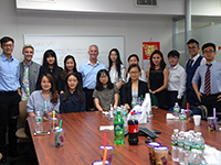 CCIP dines and learns with CEO of First American International Bank